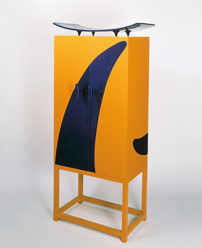 PAD London:  Garouste and Bonetti, Cabinet de Sèvres, 1989. Mouvement Modernes