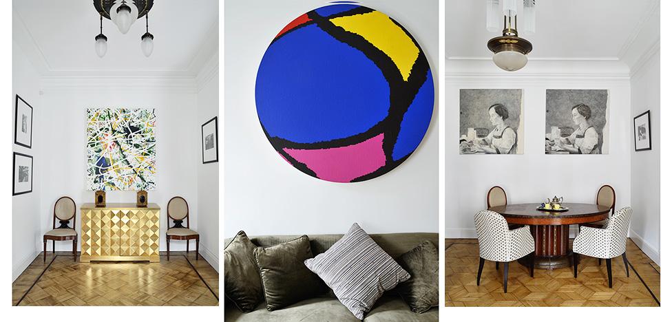 Семейная квартира с русским искусством