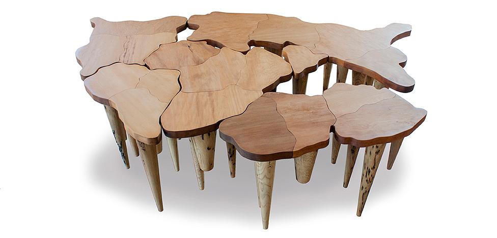Pangea от Микеле де Лукки: в память о древнем континенте