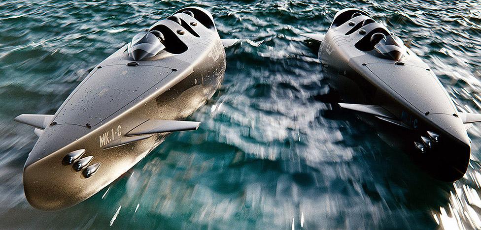 лодка способная погружаться на глубину