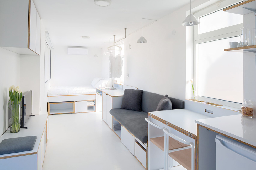 наливной пол в квартире фото