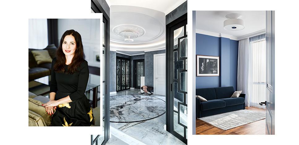 Марина Филиппова: квартира декоратора Интерьеры Дизайн
