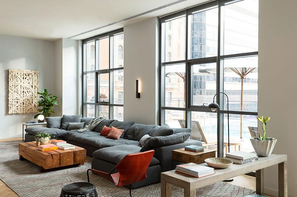 Апартаменты в Филадельфии от Morris Adjmi Architects