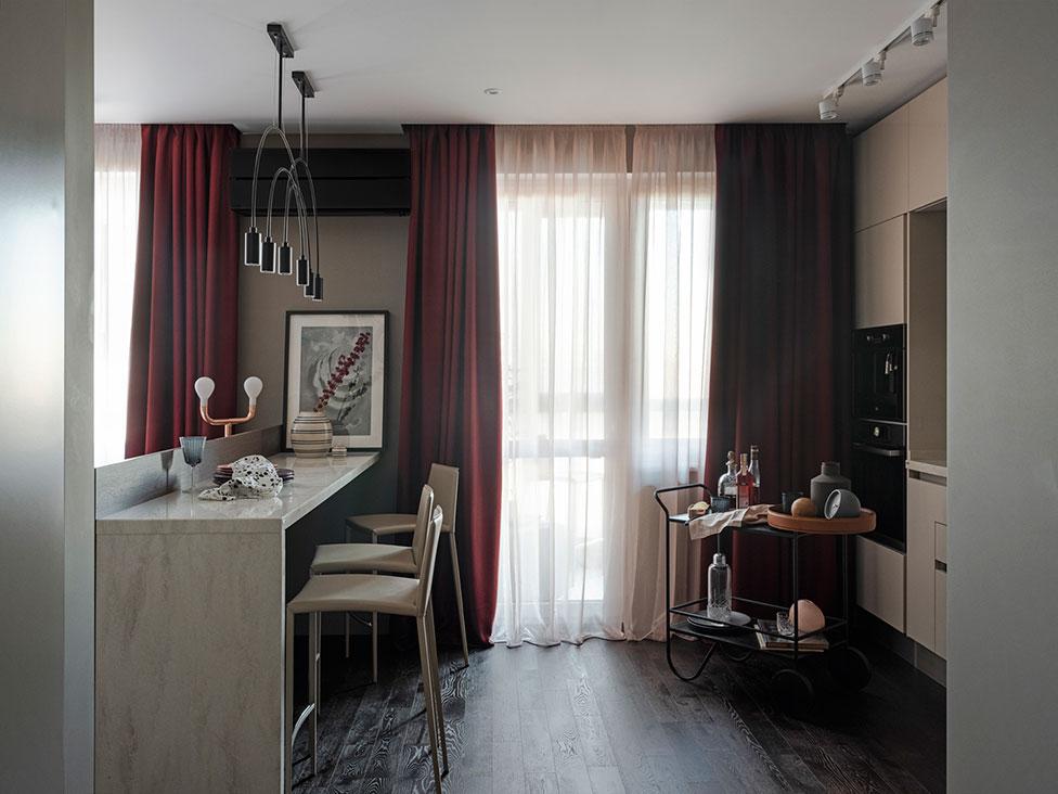Квартира 45 кв. метров на юго-западе Москвы Квартира Квартира 45 кв. метров на юго-западе Москвы Karabatova 001