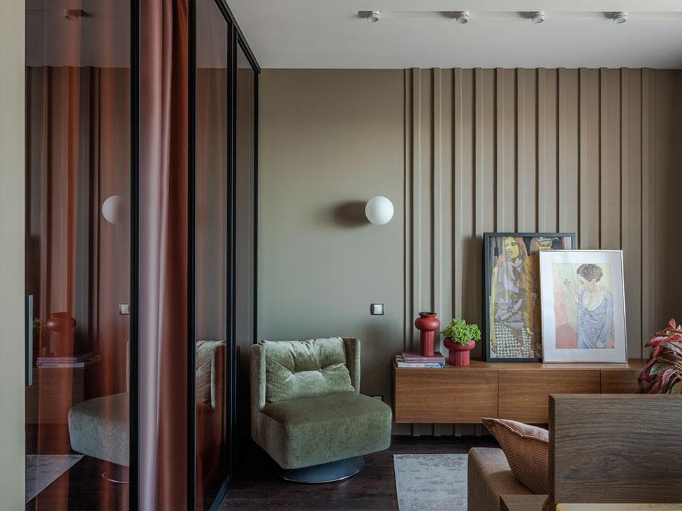 Квартира 45 кв. метров на юго-западе Москвы Квартира Квартира 45 кв. метров на юго-западе Москвы Karabatova 003