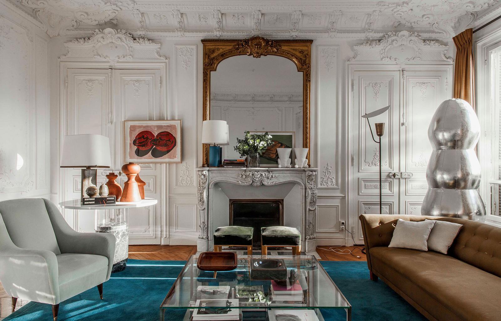 5 кодов французского интерьера • Интерьеры • Дизайн ...